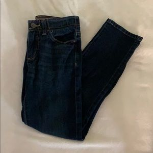 Boys Youth Skinny Blue Jeans